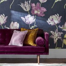 Tulipomania wallcovering Sanderson Vintage- Old wallpaper