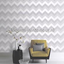 Glitterati Chevron - Platinum papel pintado Arthouse Glitterati 892302