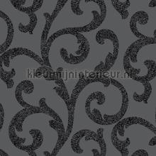 Glitterati Scroll - Black papel pintado Arthouse Glitterati 892400