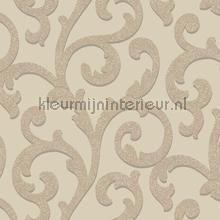 Glitterati Scroll - Mink behang Arthouse Glitterati 892401