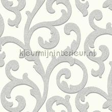 Glitterati Scroll - Platinum papel pintado Arthouse Glitterati 892402