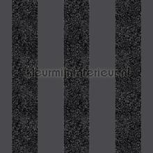 Glitterati Stripe - Black wallcovering Arthouse Glitterati 892500