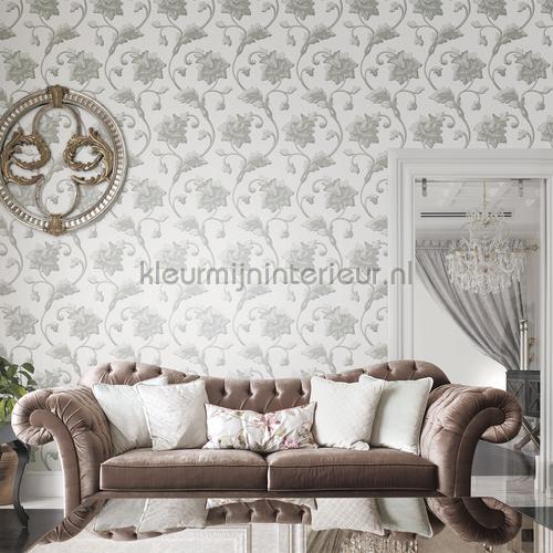 Luxe krul bloemtakken wallcovering jc1002-5 romantic Dutch First Class