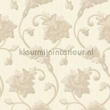Luxe krul bloemtakken tapet Dutch First Class klassiske