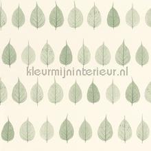 Blaadjes groen tapet Esta home Greenhouse 143-128-847