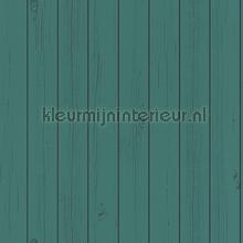 Schrootjes vergrijsd blauwgroen behang Esta home Trendy Hip