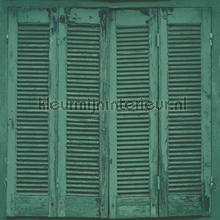 Shutter behang diepgroen Esta home Trendy Hip