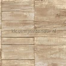 Cool wood behang Noordwand hout
