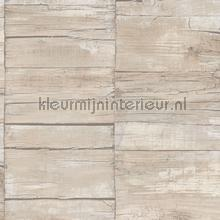 Cool wood wallcovering Noordwand Vintage- Old wallpaper