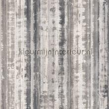 Striped metal wallcovering Noordwand Vintage- Old wallpaper