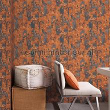 Rurty metal wallcovering Noordwand Vintage- Old wallpaper
