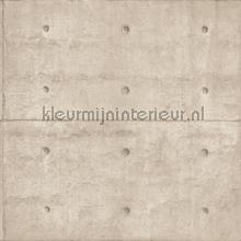 Concrete with cone holes wallcovering Noordwand Vintage- Old wallpaper