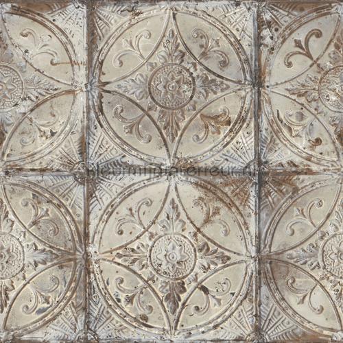Old tiles behang g45373 Keuken Noordwand