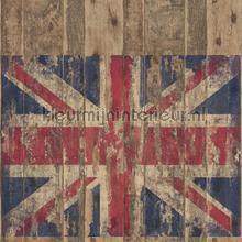 Vlag Groot Brittanie tapet Noordwand Vintage Gamle