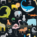 Animal Magic black behang tapet Scion Guess Who 111288