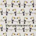 Terry Toucan grey gordijnstof curtains Scion Guess Who 120465