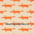 Mr Fox Applique gordijnstof met applicat curtains Scion ready made