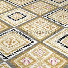 Azteeks ruitpatroon behang Behang Expresse Hacienda 5411-03