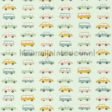 All over vintage cars papier peint Casadeco Wallpaper creations