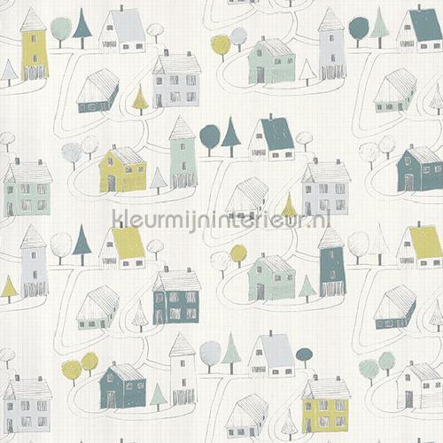 Small village tapeten HPDM82847128 Baby - Kleinkind Casadeco