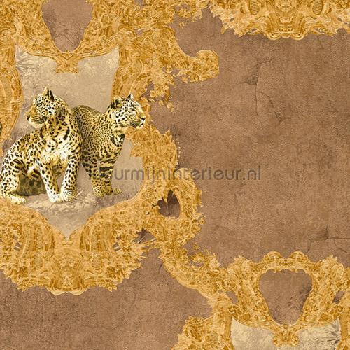 Tijgers en ornamenten papier peint 335433 Hermitage 10 AS Creation