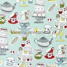 AFTERNOON TEA Duck Egg gordijnen Prestigious Textiles landelijk