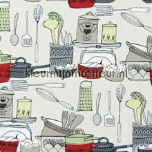 POTS AND PANS Pomegranate gordijnen Prestigious Textiles landelijk