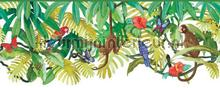 Jungle rand papier peint Eijffinger Hits 4 Kids 351702