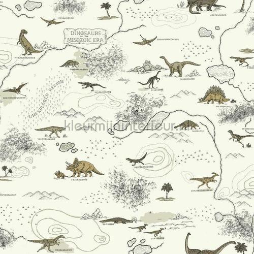 Dinosauriers wereld behang 351707 Interieurvoorbeelden behang Eijffinger