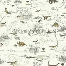 Dinosauriers wereld wallcovering Eijffinger Hits 4 Kids 351707