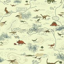 Dinosauriers wereld wallcovering Eijffinger Hits 4 Kids 351709