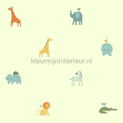 Peuter jungle behang pastel 351729 Interieurvoorbeelden behang Eijffinger