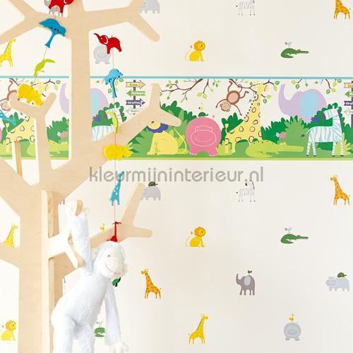 Peuter jungle behang 351732 Interieurvoorbeelden behang Eijffinger