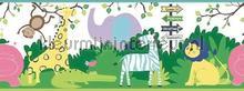 Peuter jungle rand meisjes wallcovering Eijffinger Hits 4 Kids 351734