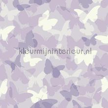 Vlindervallei paars behang Eijffinger Hits 4 Kids 351738