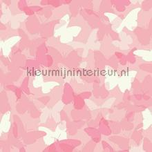 Vlindervallei roze behang Eijffinger Hits 4 Kids 351740