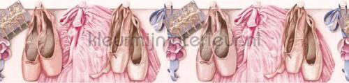Balletschoentjes rand behang 351745 Interieurvoorbeelden behang Eijffinger