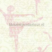 Balletdanderessen roze behang Eijffinger Hits 4 Kids 351746