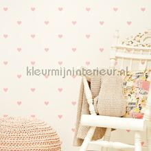 Roze hartjes voor jou papel de parede Eijffinger quadrado