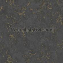 Marmer zwart brons tapet Dutch Wallcoverings Vintage Gamle