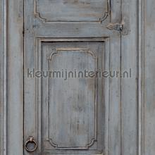 Paneel deuren bruingrijs behang Dutch Wallcoverings Landelijk Cottage