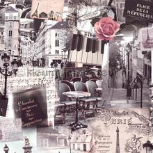 Paris c est bon carta da parati Dutch Wallcoverings Home L34908