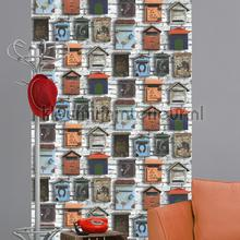 Brievenbus assortiment tapet Dutch Wallcoverings Vintage Gamle