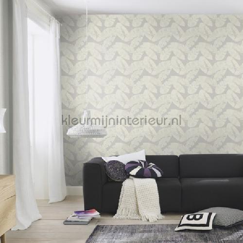 Gebladerte behang 805215 Interieurvoorbeelden behang Rasch