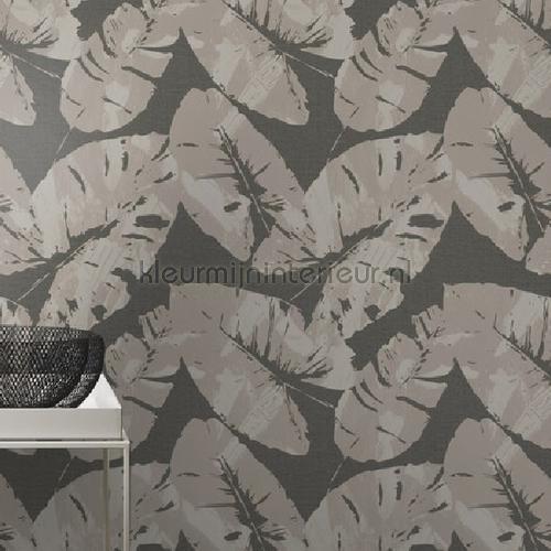 Gebladerte behang 805239 Interieurvoorbeelden behang Rasch