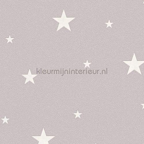 glow in the dark sterren wallcovering 32440-2 girls AS Creation
