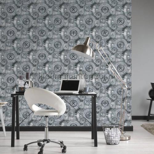 Tandwielen papel pintado 35859-1 interiors AS Creation