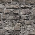 Grove gemetselde stenen muur interiors ispirazione