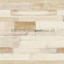 Dwarse houtplankjes tapet AS Creation Il Decoro 36857-2