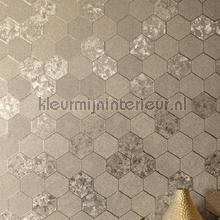 Foil honeycomb behang Arthouse klassiek
